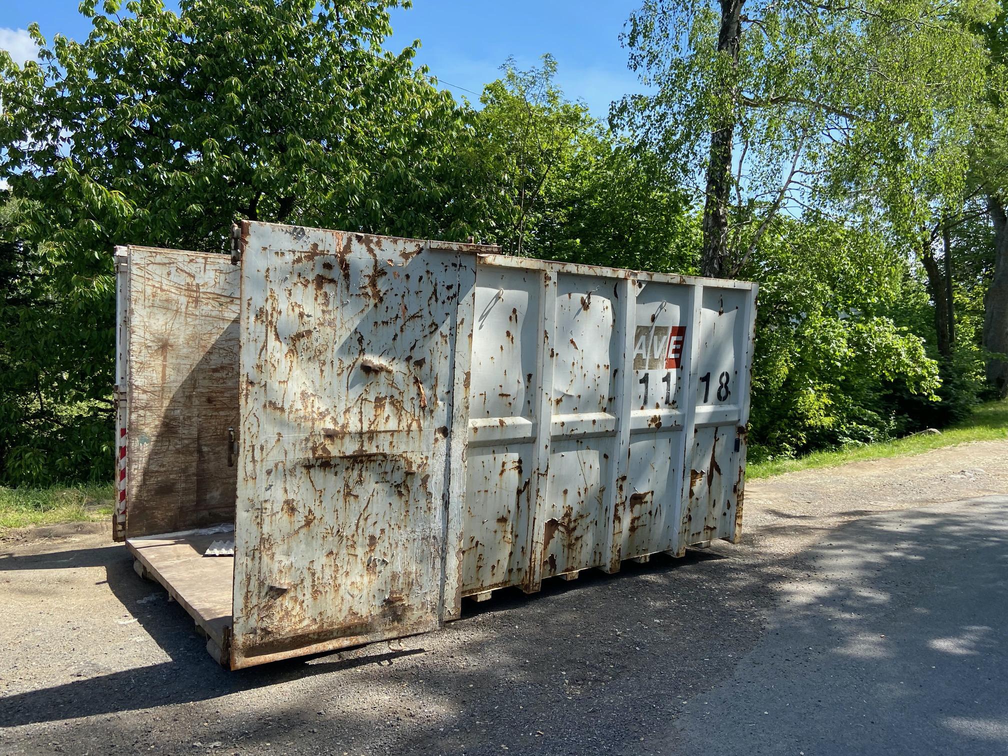 foto kontejneru
